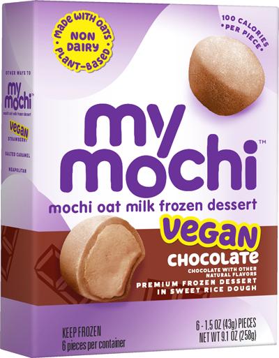 Vegan Chocolate - Mochi Oat Milk - 6ct box