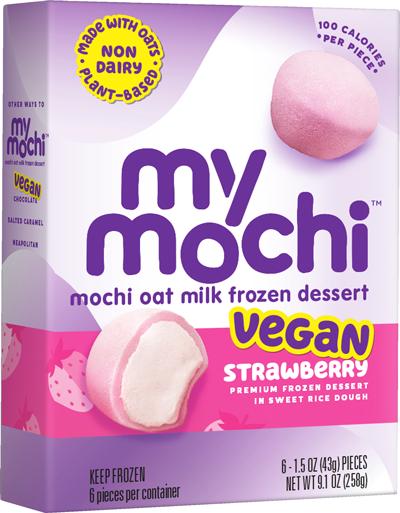 Vegan Strawberry - Mochi Oat Milk - 6ct box