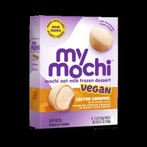 Vegan Salted Caramel - MyMochi Oat Milk - 6ct box