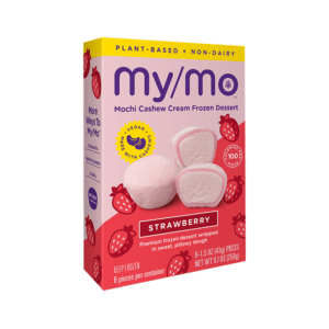 MyMochi Vegan Strawberry - 6ct box