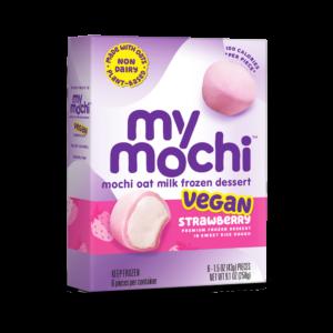 Vegan Strawberry - MyMochi Oat Milk - 6ct box