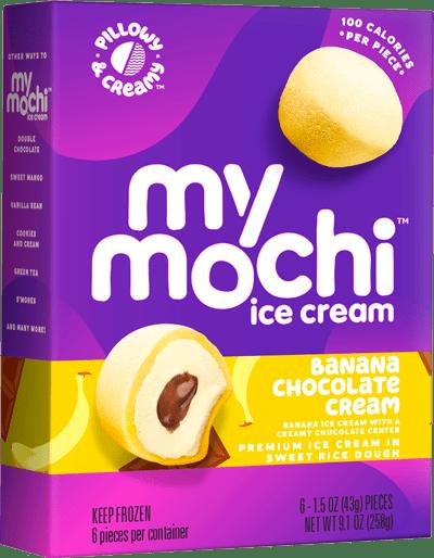 Banana Chocolate Cream - 6-ct box