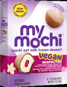 Vegan Neapolitan - Mochi Oat Milk - 6ct box