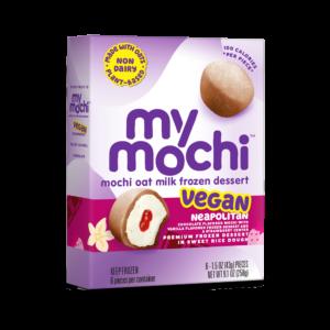 Vegan Neapolitan - MyMochi Oat Milk - 6ct box